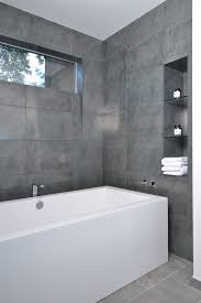 Bathroom Tile Modern Grey Bathroom Tile Bathroom Modern With Angled Sill Grey Tile