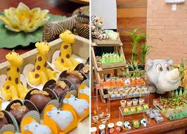 Safari and Jungle Theme Baby Shower Party
