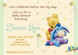 winnie the pooh baby shower winnie the pooh baby shower invitations templates