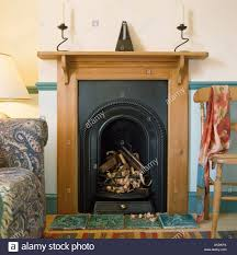 iron fireplace binhminh decoration