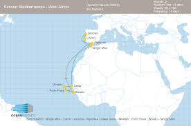 Tanger Map Maersk Restructures Its West Africa Waf Services Ocean Insights