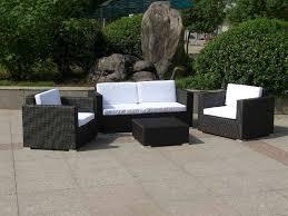 Black Wicker Patio Furniture Sets by Black Wicker Furniture Sets U2013 Outdoor Decorations