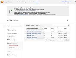 integrate optimizely classic with google universal analytics