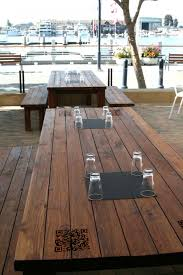 Wooden Patio Tables How To Build A Wooden Patio Home Design Ideas And Pictures