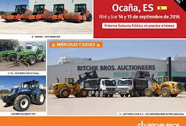 revista motor 2016 get ready for the september auction of ritchi bros in ocaña