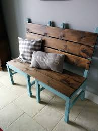 antique wooden bench seat repurposed chairs that will widen your eyes in terms of usefulness