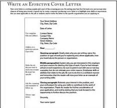 very simple cover letter sample how to write a job application