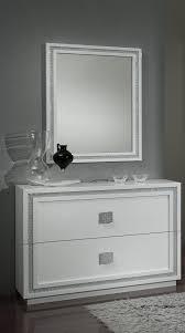 commode chambre blanc laqué commode design 2 tiroirs laquée blanche cristalline commode et