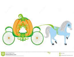 pumpkin carriage pumpkin carriage stock vector image 39779221