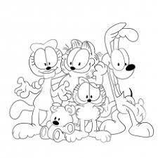 top 10 free printable garfield coloring pages online