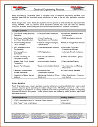 resume sles for electrical engineer pdf to excel resume of a electrical engineer therpgmovie