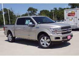 new 2018 ford f 150 platinum crew cab pickup in college station