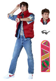 marty mcfly men s costume package from back to the future