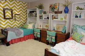 home decoration inspiring colorful college dorm room with 2