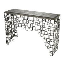 36 inch console table 36 inch console table sterling industries alvis silver and grey