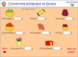 g to kg converting between grams and kilograms worksheet by