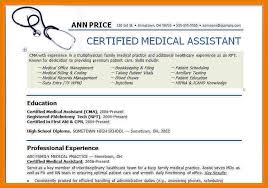 Samples Of Medical Assistant Resume by Medical Assistant Resume Example Resume Format Download Pdf