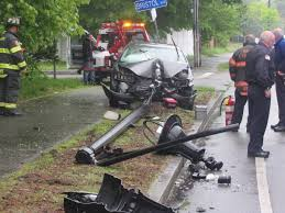 car vs pole injures one in hyannis
