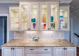 kitchen cabinet with shelves glass doors vs open shelves which works best for your