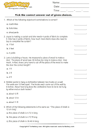 converting between customary units of length worksheet turtle diary