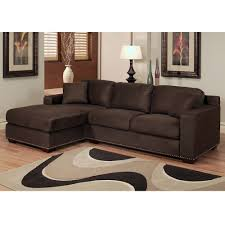 Leather And Suede Sectional Sofa Microsuede Sectional Sofa Home Design Ideas And Pictures