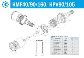 hydraulic pump for komatsu excavators from jmtc ltd b2b