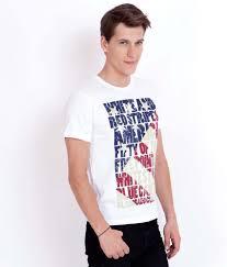 Buy American Flag Online Elaborado American Flag White Printed T Shirt Buy Elaborado
