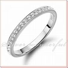 rings silver simple images Simple silver wedding rings for women sterling silver women ring jpg