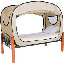 the bed tent privacy pop bed tent multiple colors walmart com
