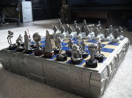 star wars chess sets fs danbury mint pewter star wars chess set sold please lock