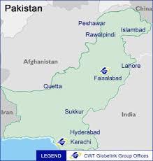 world map pakistan karachi globelink indonesia pakistan