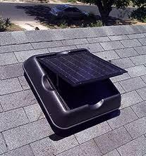 solar attic vent fan attic exhaust fan solar gable fan