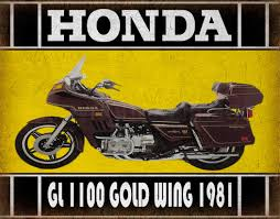 1981 honda gold wing gl1100 classic motorcycle vintage garage