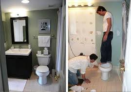 best small bathroom makeovers home combo