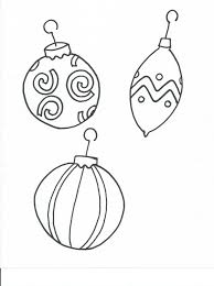 ornament coloring page get coloring pages
