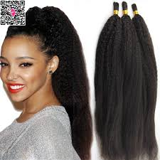 crochet braids with human hair brazilian virgin hair bulk human hair for braiding no weft 3