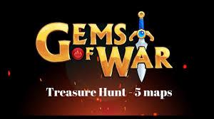 Hunt Maps Gems Of War Treasure Hunt 5 Maps Youtube