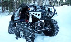 rc adventures snow dayz series trailing in deep snow rc groups