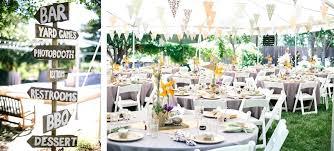 food tables at wedding reception backyard bbq ideas 5 easy backyard ideas set up a backyard food