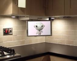 interesting kitchen tv ideas awesome furniture home design