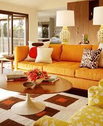 interior decorating styles living room orange decor orange and cream living room decorating
