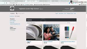 yearbook website how to buy a yearbook via the jostens website
