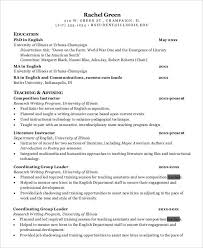 Resume For Teaching Assistant 40 Modern Teacher Resumes Free U0026 Premium Templates