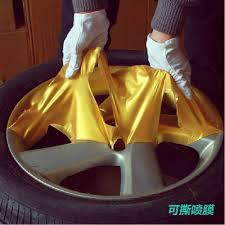 buy all the way to the us car wheels sprayed film changed color