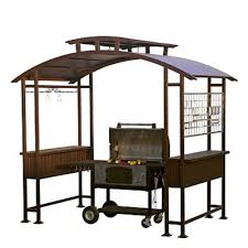 build and decorate the hardtop grill gazebo house decorations