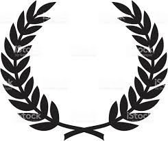 simple laurel wreath stock vector art 165596294 istock