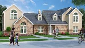 multi family house plans multi family house plans duplex apartments townhouse floorplan