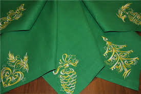 embroidered christmas christmas towels with free christmas free machine embroidery design