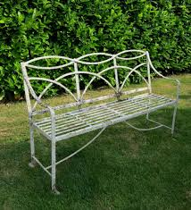 furniture bench antique cast iron park benches outdoor los angeles