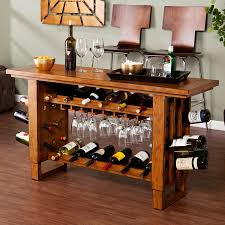 console table with wine storage wine rack console table to add up some luxury feels to your house